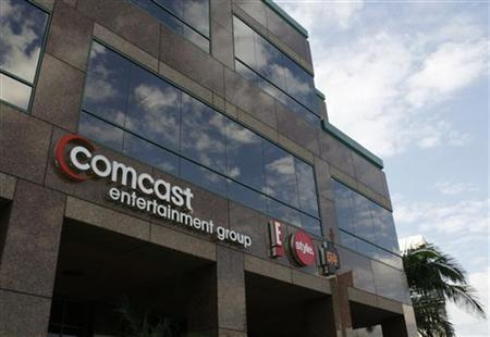 The offices and studios of Comcast Entertainment Group which operates E! Entertainment Television, the Style Network and G4 network are pictured in Los Angeles November 12, 2009. REUTERS/Fred Prouser