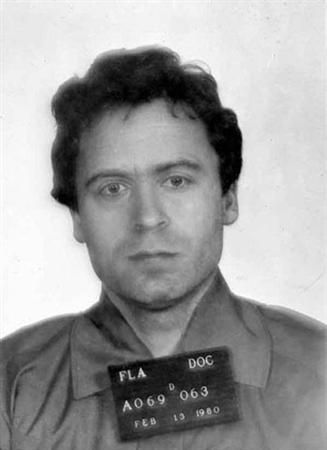 Ted Bundy in a 1980 mug shot. REUTERS/Courtesy of the FBI