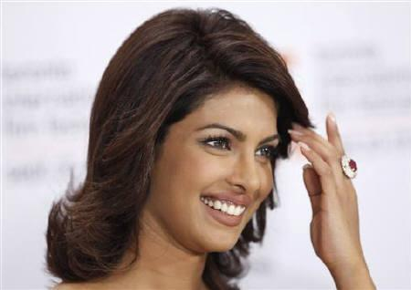 Priyanka Chopra at 34th Toronto International Film Festival, September 18, 2009.  REUTERS/Mark Blinch/Files