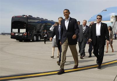 Obama's bus tour