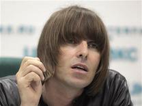 <p>Former Oasis front man Liam Gallagher answers a question during a news conference in Moscow June 3, 2011. REUTERS/Alexander Natruskin</p>