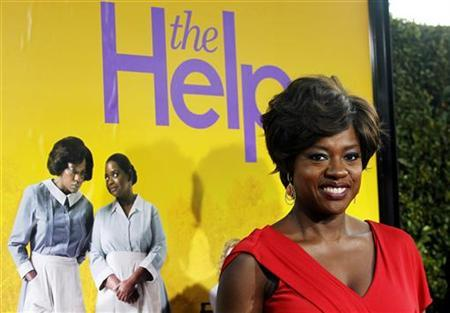 Cast member Viola Davis poses at the premiere of the movie ''The Help'' at the Samuel Goldwyn Theatre in Beverly Hills, California August 9, 2011. REUTERS/Mario Anzuoni