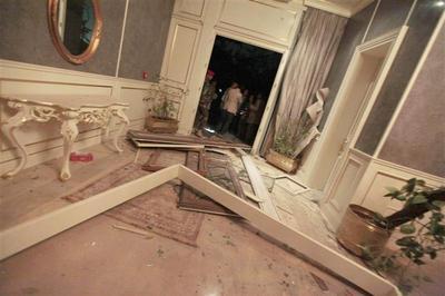 The Gaddafi compound