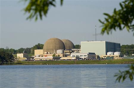 Dominion Virginia Power's North Anna Power Station in Mineral, Virginia is pictured in this undated photograph obtained on August 23, 2011. Two nuclear reactors at North Anna plant were shut down on Tuesday after the facility lost power following a strong earthquake that rattled the U.S. East Coast, but company officials said there was no major damage from the 5.9 magnitude quake, which was centered in Mineral. REUTERS/Dominion Power/Handout