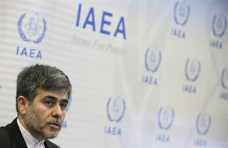 Iran's Head of Atomic Energy Organization Fereydoun Abbasi-Davani attends a news conference during the Ministerial Conference on Nuclear Safety in Vienna in Vienna June 21, 2011. REUTERS/Herwig Prammer/Files