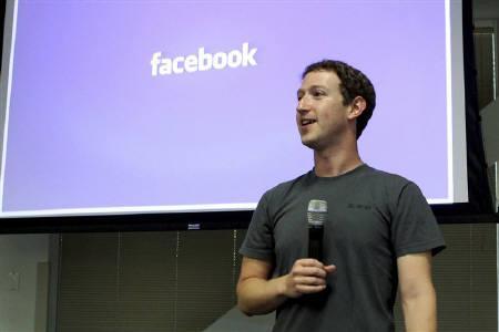 Facebook CEO Mark Zuckerberg speaks during a news conference at Facebook's headquarters in Palo Alto, California July 6, 2011. REUTERS/Norbert von der Groeben/Files