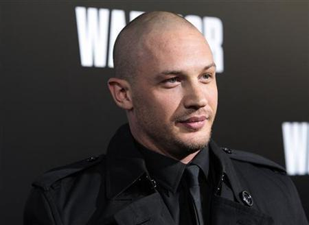 Cast member Tom Hardy arrives at the film premiere of ''Warrior'' in Hollywood, California, September 6, 2011. REUTERS/Jason Redmond