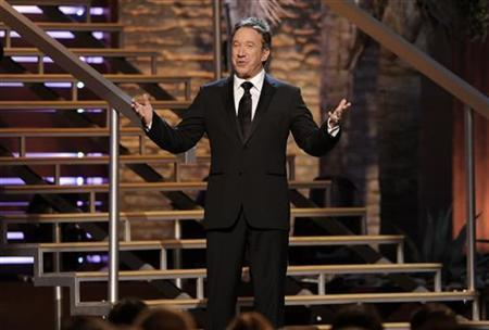Actor Tim Allen hosts the 8th Annual TV Land Awards in Los Angeles, California April 17, 2010. REUTERS/Gus Ruelas