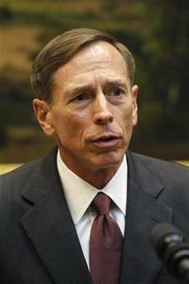 David Petraeus speaks to the press after being sworn-in as the new CIA Director, in the Roosevelt Room of the White House in Washington, September 6, 2011. REUTERS/Jason Reed