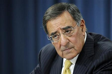 Defense Secretary Leon Panetta listens to a question during his first news conference at the Pentagon in Washington, August 4, 2011. REUTERS/Jonathan Ernst