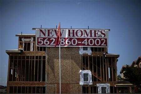 New homes under construction are seen at Hawaiian Gardens, California June 28, 2011. REUTERS/Lucy Nicholson