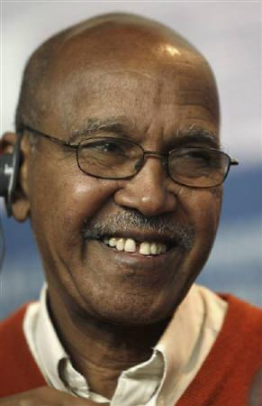 Nuruddin Farah, author and member of the Berlinale jury, attends a news conference at the Berlinale International Film Festival in Berlin February 11, 2010. REUTERS/Christian Charisius/Files