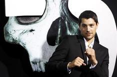 """Nicholas D'Agosto na estreia de """"Premonição 5"""", em Hollywood, em agosto. 10/08/2011 REUTERS/Mario Anzuoni"""