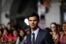 """O ator Taylor Lautner na estreia do filme """"Sem Saída"""", em Hollywood.  23/09/2011  REUTERS/Mario Anzuoni"""