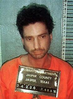 Lawrence Russell Brewer, of Sulpher Springs, Texas,shown in a picture released by the authorities June 9, is one of three suspects in the James Byrd, Jr. murder case. REUTERS/Handout