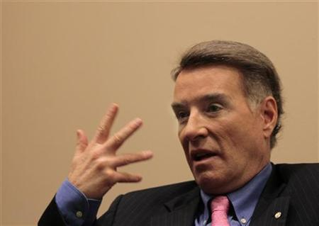 Brazilian billionaire Eike Batista, CEO of EBX Group, speaks during an interview with Reuters in New York, September 23, 2011. REUTERS/Brendan McDermid