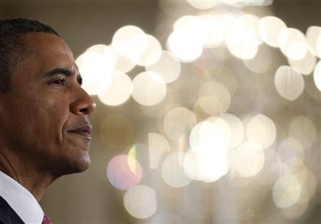 President Barack Obama is pictured as he delivers remarks on the need to provide states with relief from key provisions of the No Child Left Behind education policy, at the White House in Washington September 23, 2011. REUTERS/Jason Reed