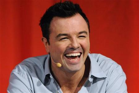 Cast member, creator and executive producer Seth MacFarlane participates in the panel for ''American Dad'' during the Fox summer Television Critics Association press tour in Beverly Hills, California August 2, 2010. REUTERS/Phil McCarten