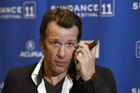 Thomas Jane arrives for a movie premiere at the Sundance Film Festival in Park City, Utah January 26, 2011. REUTERS/Lucas Jackson/Files