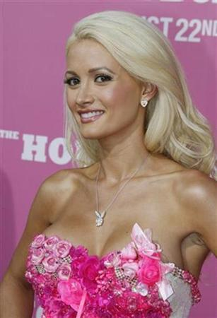 Reality TV star and model Holly Madison in Los Angeles, in August 2008. REUTERS/Fred Prouser