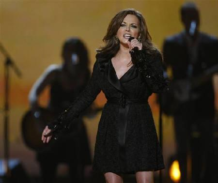 Singer Martina McBride performs ''Teenage Daughters'' at the 46th annual Academy of Country Music Awards in Las Vegas April 3, 2011. REUTERS/Steve Marcus/Files