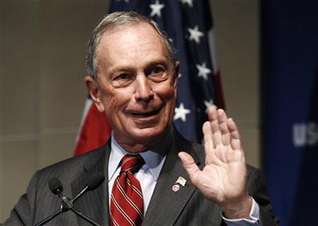 New York City Mayor Michael Bloomberg speaks at a U.S. Chamber of Commerce forum on how reforming the U.S.'s high skilled immigration system will help retain their global competitiveness and create jobs, in Washington September 28, 2011. REUTERS/Kevin Lamarque