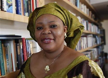 Nobel Peace Prize winner Leymah Gbowee poses in New York, October 7, 2011. REUTERS/Shannon Stapleton
