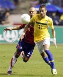Neymar (foto) salvou a seleção brasileira em um amistoso mais complicado do que o Brasil esperava e marcou o único gol da vitória.  REUTERS/Juan Carlos Ulate