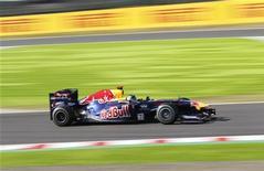 Sebastian Vettel conquistou a pole e abriu caminho para seu segundo título de Fórmula 1, depois que a Red Bull venceu uma corrida contra o tempo para deixar o carro pronto para o Grande Prêmio do Japão. REUTERS/Kim Kyung-Hoon