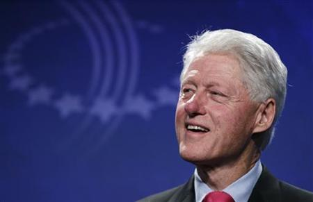 Former President Bill Clinton listens to a panel discussion during the Clinton Global Initiative in New York September 21, 2011. REUTERS/Lucas Jackson