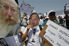 Сотни врачей в Израиле не вышли на работу в понедельник после увольнений из-за несогласия с уровнем зарплат, сообщил представитель министерства здравоохранения. 31 июля 2011 г. REUTERS/Baz Ratner