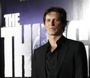 "Cineasta Matthijs van Heijningen Jr. na estreia mundial de ""The Thing"" no Universal Studios Hollywood, na Califórnia. 10/10/2011  REUTERS/Mario Anzuoni"