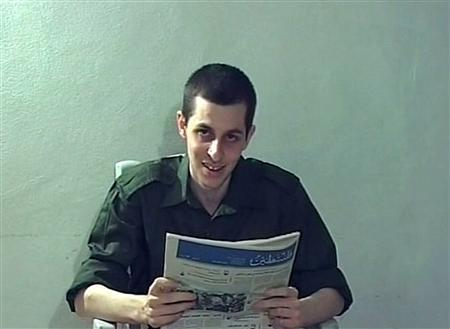 Captured Israeli soldier Gilad Shalit is seen in this file still image from video released October 2, 2009 by Israeli television. REUTERS/Handout/Files