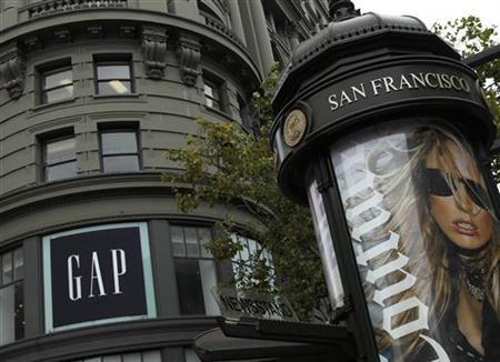 The Gap flagship store is seen in San Francisco, California August 18, 2011. REUTERS/Robert Galbraith