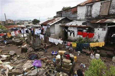 Image result for liberia slums