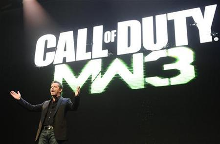 Activision Publishing CEO Eric Hirshberg speaks during the premiere of the video game ''Call of Duty: Modern Warfare 3'' in Los Angeles, California September 2, 2011. The game goes on sale later this year. REUTERS/Gene Blevins