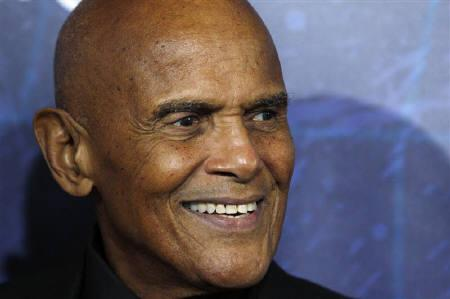 Singer Harry Belafonte arrives at the Broadway opening of ''Spider-Man: Turn Off The Dark'' in New York June 14, 2011. REUTERS/Jessica Rinaldi/Files
