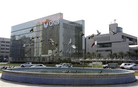Qatar National Bank's head office building is seen in Doha November 30, 2009. REUTERS/Fadi Al-Assaad