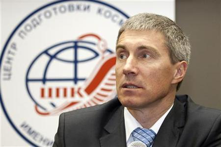 Russian cosmonaut Sergey Krikalyov speaks during a news conference in the Star City Cosmonaut training centre outside Moscow, March 3, 2010.  REUTERS/Sergei Remezov