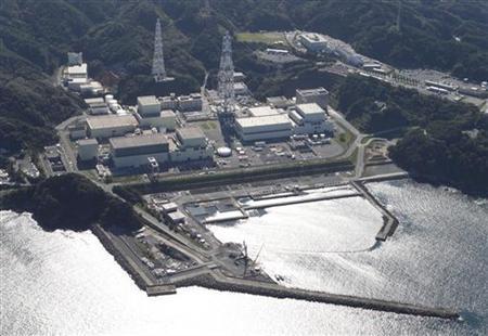 Onagawa Nuclear Power Plant is seen in Onagawa town, Miyagi Prefecture, September 7, 2011.   REUTERS/Issei Kato