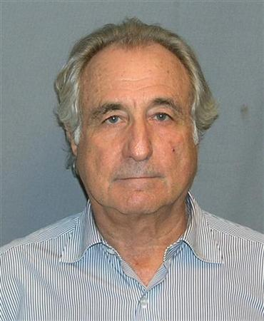 Booking mug shot of Bernard Madoff released to Reuters on March 17, 2009.     REUTERS/UNITED STATES MARSHALS SERVICE/FOIA/Handout