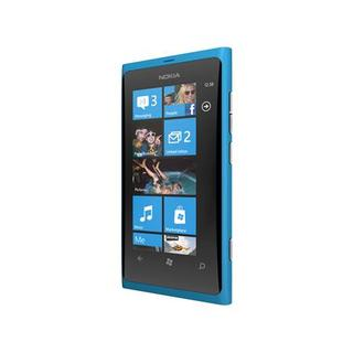 A Nokia Lumia 800 smartphone is seen in an image released by Nokia in London October 26, 2011.  REUTERS/Nokia/handout