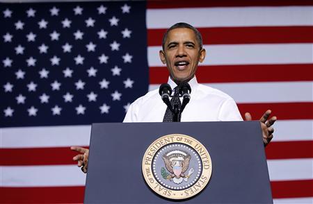 U.S. President Barack Obama delivers remarks on education at the University of Colorado in Denver, October 26, 2011.   REUTERS/Jason Reed