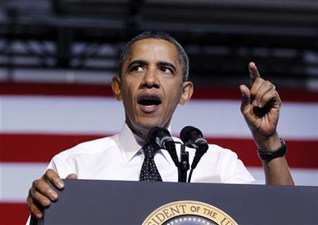President Barack Obama delivers remarks on education at the University of Colorado in Denver, October 26, 2011.   REUTERS/Jason Reed
