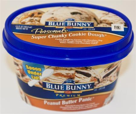 A package of Blue Bunny Personals ice cream is seen in an undated handout photo. REUTERS/U.S. Food and Drug Administration/Handout