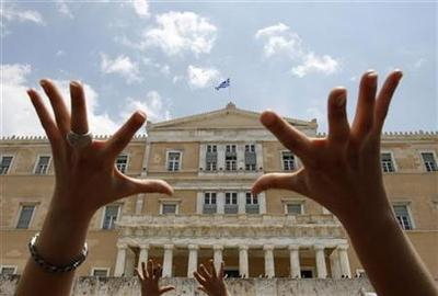 Greece risks meltdown after bailout vote bombshell