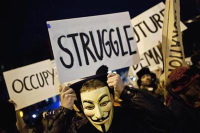 Occupy Wall Street finds money brings problems too