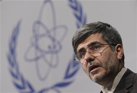 Iran's Head of Atomic Energy Organization Fereyoun Abbasi-Davani attends the Ministerial Conference on Nuclear Safety in Vienna in Vienna June 20, 2011.    REUTERS/Herwig Prammer