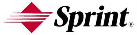 This logo was provided by Sprint at a presentation in New York. REUTERS