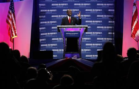 U.S. Republican presidential candidate Herman Cain speaks at the ''Defending the American Dream Summit'' in Washington November 4, 2011.   REUTERS/Jason Reed